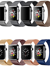 cheap -Smartwatch Band for Apple Watch Series 5/4/3/2/1 Apple Milanese Loop Stainless Steel Wrist Strap