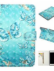 Недорогие -чехол для apple ipad (2017) ipad (2018) искусственная кожа материал 3d окрашенный рисунок плоский чехол для apple ipad air 2 ipad air 2 ipad 2/3/4 ipad pro 10.5 ipad mini 1/2 / 3/4/5