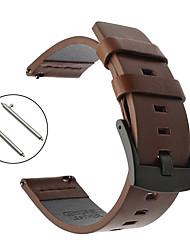 cheap -Watch Band for Huawei Watch GT / Huawei Watch 2 Pro Huawei Sport Band Genuine Leather Wrist Strap