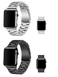 cheap -Smart Watch Band for Apple iWatch 1 pcs Modern Buckle Stainless Steel Replacement  Wrist Strap for Apple Watch Series SE / 6/5/4/3/2/1 38mm 40mm 42mm 44mm