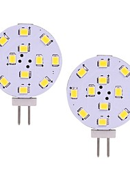 cheap -2pcs 2W G4 LED Light 12V 24V AC/DC 12 leds SMD 2835 White Warm White for Range Hood Light Cocina RV Boat Ceiling Cabinet Lamp