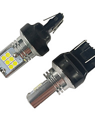 cheap -2PCS High Quality Constant Circuit 15W 1200LM 7443 t20 LED Turn Signal Light Volkswagen LED Turn Signal Light