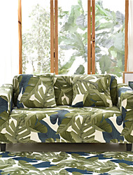 cheap -Colours Print Dustproof Stretch Slipcovers Stretch Sofa Cover Super Soft Fabric Couch Cover (You will Get 1 Throw Pillow Case as free Gift)