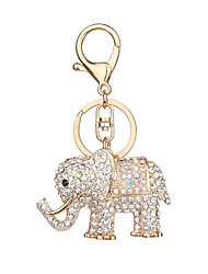 cheap -Keychain Elephant Fashion Ring Jewelry White / Rose Gold For Causal Daily