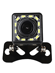 cheap -ZIQIAO 12 LED Lights 170-degree Night Vision Waterproof Car Rear View Backup Camera