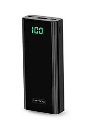 abordables -10000 mah pour batterie externe de banque d'alimentation avec lcd5 v pour 2.1 a pour chargeur de batterie qc 2.0 / avec micro câble