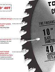 abordables -lame de scie circulaire 10 5/8 1 pc 40t carbure incliné pour skil dewalt& voir