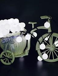 cheap -10m String Lights 50 LEDs 1Set Mounting Bracket 1 set Warm White / RGB / White Waterproof / Solar / Creative Solar Powered