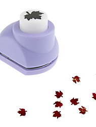 cheap -15mm Maple Leaf Craft Punch Card Making Scrapbooking