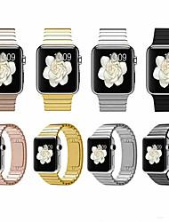 Недорогие -SmartWatch группа для Apple Watch серии 4/3/2/1 мода из нержавеющей стали классическая пряжка спортивная группа ремешок iwatch