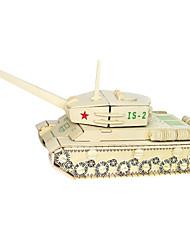 abordables -Puzzles en bois Jeux de Logique & Casse-tête Tank Navire de Guerre Bâtiment Célèbre Simulation Fait à la main Interaction parent-enfant En bois 1 pcs Enfant Adulte Tous Jouet Cadeau