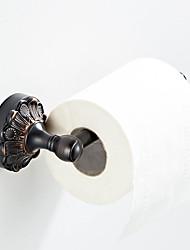 abordables -Porte-papier toilette châssis châssis rétro noir nouveau pays design / laiton antique 1pc - salle de bain / hôtel mural
