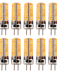 abordables -YWXLIGHT® 10pcs 5 W LED à Double Broches 300-400 lm GY6.35 T 72 Perles LED SMD 5730 Blanc Chaud Blanc Froid 12-24 V