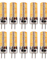 cheap -YWXLIGHT® 10pcs 5 W LED Bi-pin Lights 300-400 lm GY6.35 T 72 LED Beads SMD 5730 Warm White Cold White 12-24 V