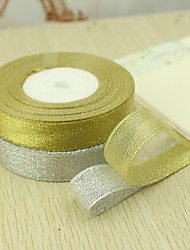 cheap -Solid Color Organza Wedding Ribbons Piece/Set Organza Ribbon Decorate gift box Decorate wedding scene