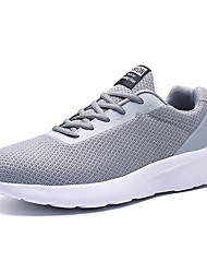 cheap -Men's Comfort Shoes Mesh Summer Casual Athletic Shoes Walking Shoes Breathable Black / Blue / Gray