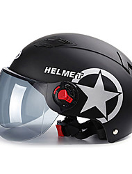 cheap -Half Helmet Adults Unisex Motorcycle Helmet  Best Quality / Breathable