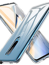 cheap -Case For OnePlus OnePlus 6 / One Plus 6T / One Plus 7 Transparent Back Cover Solid Colored Soft TPU
