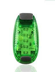 Недорогие -LED подсветка / огни безопасности / Сигнальный огонь для бега 1 шт. Ночное видение / Простота транспортировки / Прочный АБС-пластик для Походы / туризм / спелеология / Велосипедный спорт Белый