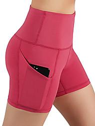 cheap -Women's High Rise Yoga Pants Fashion Running Fitness Shorts Activewear Soft Butt Lift Micro-elastic Slim
