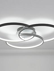 cheap -38W Modern Style Round Shape LED Ceiling Lamp Flush Mount Living Room Bedroom Dining Room Lamp