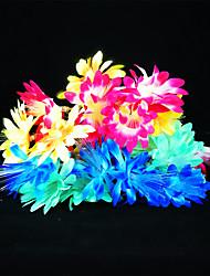 cheap -ZDM 5M 20PCS Chrysanthemum Dyed Silk Fiber Festival Decoration LED Lamp String EU AC220-240V