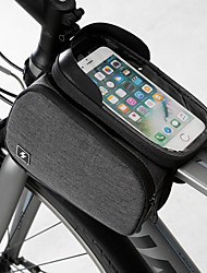 cheap -Cell Phone Bag Bike Frame Bag Top Tube 6.2 inch Touch Screen Portable Cycling for Samsung Galaxy S6 Samsung Galaxy S6 edge LG G3 Black Road Bike Mountain Bike MTB Outdoor / iPhone XS Max / iPhone XS