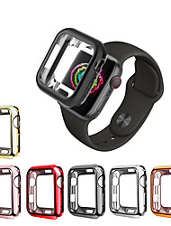 cheap -For Apple Watch Series 4 3 2 1 iWatch 38/44mm Slim Soft TPU Protect Case Cover