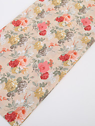 cheap -Chiffon Florals Pattern 150 cm width fabric for Special occasions sold by the Meter