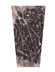 cheap -LITBest 2 pcs Temporary Tattoos Universal / Creative / Soft touch brachium Nylon Sleeve Tattoos