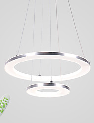 cheap -1-Light 40 cm LED Pendant Light Metal Acrylic Circle Others Modern Contemporary 90-240V