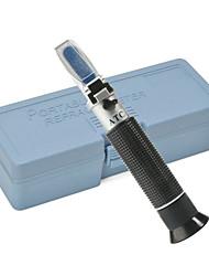cheap -refractometer alcohol alcoholometer meter 0~80%v/v atc handheld tool hydrometer rz116 concentration spirits tester wine
