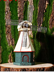 "cheap -Decorative Objects With Resin Material,Windmill Furnishing Articles,Beige 14""x25""cm,2pcs For Home Office Decor,Good Gift For Birthday, Chritsmas and any Festivals Resin Modern Contemporary Style"
