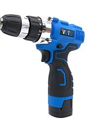 Недорогие -voto аккумуляторная ручная дрель 16.8v бытовая микро электрическая отвертка пакетная многофункциональная дрель литиевая дрель