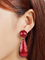cheap -Women's Drop Earrings Drop European Trendy Fashion Modern Earrings Jewelry Black / Red / Blue For Gift Daily Street Holiday Work 1 Pair