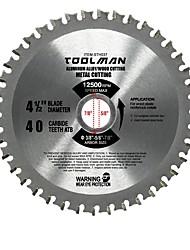cheap -Toolman Circular Saw Blade Universal Fit 4 1/2 40T For Metal Aluminum Steel