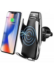 abordables -Chargeur rapide / Chargeur Sans Fil / Chargeurs de voiture sans fil Chargeur USB Universel Chargeur Sans Fil / Qi Non supporté 2 A DC 5V pour iPhone X / iPhone 8 Plus / iPhone 8