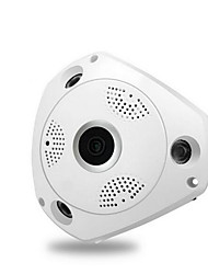 cheap -960P with power supply Nine security scene 360 degree VRCAM wireless wifi HD 960P network camera wide angle fisheye indoor monitoring