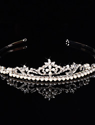 cheap -Crystal / Alloy Headbands with Crystal / Faux Pearl 1 Piece Wedding / Special Occasion Headpiece