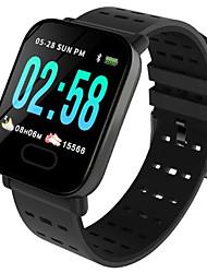 Недорогие -Муж. электронные часы Цифровой силиконовый Черный / Синий 30 m Защита от влаги Bluetooth Smart Цифровой На открытом воздухе Мода - Черный Черный / оранжевый Синий