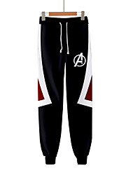 cheap -Super Heroes Pants Unisex Movie Cosplay Polyster