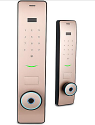 cheap -Factory OEM RX0827 Stainless Steel lock / Fingerprint Lock / Intelligent Lock Smart Home Security System Fingerprint unlocking / Password unlocking / APP unlocking Home / Office Security Door