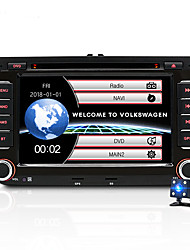 cheap -JUNSUN 2531-S 7 inch 2 DIN Windows CE In-Dash Car DVD Player / Car MP5 Player / Car MP4 Player GPS / MP3 / Built-in Bluetooth for Volkswagen / Skoda / Seat Mini USB Support AVI / WMV / ASF MP3 / WMA