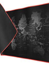 Недорогие -litbest 40 * 90 * 2 см очень большой коврик для мыши карта старого мира игровой коврик для мыши противоскользящий натуральный каучук игровой коврик для мыши с фиксатором края