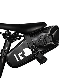 cheap -ROSWHEEL 1.5 L Bike Saddle Bag Waterproof Reflective Logo Durable Bike Bag Lycra Terylene Polyster Bicycle Bag Cycle Bag Cycling Road Bike Mountain Bike MTB Outdoor