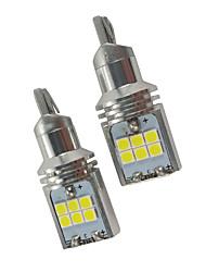 cheap -2PCS Cayenne Macan XFL XEL CAN-bus W16W LED Backup Light 3 Series 5 Series 6 Series 7 Series T15 Reverse Light White