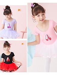 cheap -Kids' Dancewear / Ballet Dresses Girls' Performance 100% Cotton Paillette Leotard / Onesie