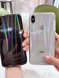 cheap -Case For Apple iPhone XR / iPhone XS Max / iPhone X Transparent Back Cover Transparent Hard Acrylic