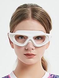 cheap -Swimming Goggles Windproof Anti-Fog Swimming For Adults' Silicone Rubber PC Blacks Fuchsia