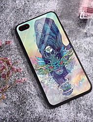 cheap -Case For iPhone X XS Max XR XS Back Case Soft Cover TPU Fashion Fashion Illustration style buffalo Soft TPU for iPhone5 5s SE 6 6P 6S SP 7 7P 8 8P